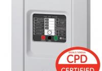 1X-F4-45 * Centrala conventionala 4 zone, afisare alarma / defect de zona cu LED, 32 de dispozitive mixate pe zona, 4 iesiri monitorizate de sirene, 2 iesiri auxiliare