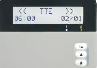 Eclipse LCD32 * Tastatura LCD 8 partitii si 32 indicatoare de zona