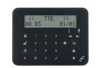 Eclipse LCD32 S * Tastatura LCD cu taste senzitive, 8 partitii si 32 indicatoare de zona