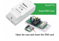 Sonoff G1 GSM * Porneste / opreste device-uri prin telefonul mobil, via GPRS (2G/3G/4G)