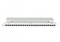 "HSER0240GV * Patchpanel 19"" empty for 24 modules (SFA)(SFB), 1U, RAL7035"