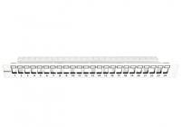 """HSER0240GP * Patchpanel 19"""" 24 porturi(SFA)(SFB) goale, 1UH, RAL7035, scurt"""