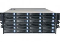 DSN-7424 * Server stocare de rețea 128 canale, 24 x HDD, RAID 0/1/5/6, cu driver NVMS1000 Central, viteză de înregistrare 1080p @ 25fps pe canal