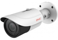 DCN-BV752 * Camera video IP compactă de exterior, rezoluție 5Mpx / 25fps, lentilă 3.6-10mm, H.265, 48 LED IR 30-50 m, 12VDC / PoE, card SD, intrare audio, Onvif, protecție IP66