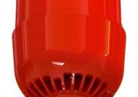 ASC2367 * Sirena adresabila cu flash alimentata din bucla cu baza inalta, IP65, montare pe tavan