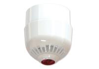 ASC2367W * Sirena adresabila cu flash alimentata din bucla cu baza inalta, IP65, carcasa alba si flash rosu, montare pe tavan