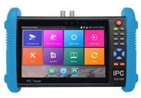"T-9800ADH+ * Tester CCTV 7"" Touch Screen - HD-TVI/CVI/AHD/CVBS/IP, H.264/265, 4K, HDMI I/O, WIFI, POE"