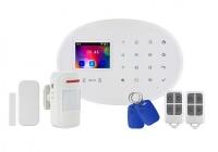 KR-W20 * Kit alarma wireless, comunicatie GSM, WIFI, RFID EM 125 kHz