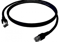 H6GTS05K0S * Patchcablu Cat.6a/10GB ecranat RJ45, LS0H, negru 5m