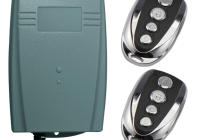 MDU Kit * Modul transmitator universal cu 2 canale. Functie buton de PANICA
