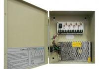 DAN-3104 * Sursa de alimentare 12VDC 10A, pentru 4 camere