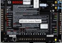 B9512G * Centrala de efractie: 8 zone pe centrala, 599 zone, 32 partitii