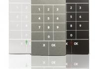 Ergo A KSI2100030.30X * Ergo A pentru exterior, tehnologie Soft-Touch si Bluetooth recomandata pentru control acces