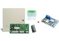 PC 1616-E LCD - BL * Centrala PC 1616 + tastatura PK5500 + exp. zone PC5108 + SEKA GPRS BUS LITE