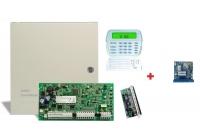 PC 1616-E LCD - SMS * Centrala PC 1616 + tastatura PK5500 + exp. zone PC5108 + SEKA SMS