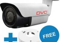 DCA-BV6241 * Cameră video exterior; Starlight; AHD, HD-CVI, HD-TVI, analog; 1080p; 2.8-12 mm; IR: 20 LED, 40 - 50m; 12VDC; 5W; IP66