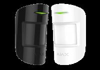 AJAX MotionProtect Plus WH/BL * Detector wireless cu dubla tehnologie PIR + MW 24GHz