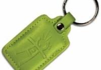 PC-04G * Tag de proximitate in piele verde Jablotron