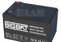 EL-12-12 * Acumulator compact acid-Pb 12V/12Ah