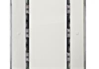 KX2212DB12 * Taster, 1 cale, alb titan, fără LED