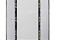 KX2212DB32 * Taster, 1 cale, aluminiu metalic, fără LED