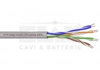 UTP Cat 5e * Cablu UTP Cat 5e, 4x2x24AWG