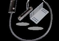SA-220 * Contact magnetic metalic, pentru usi metalice cu cablu protejat