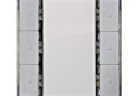 KX2232DB32 * Taster, 3 căi, EnOcean, i-system, aluminiu metalic