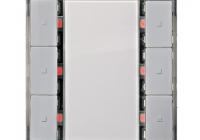 KX2232AB34 * Taster, 3 căi, aluminiu metalic, fără LED