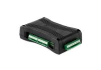 IP BRIDGE PRO - IN6.R6 * Comunicator IP universal, programabil prin USB sau prin interfata web. Emuleaza o linie telefonica, este echipat cu 6 intrari configurabile NO/NC, 6 iesiri de releu NO, 1 port RS232