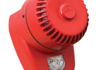 ROLP-R-LX-W-RF * Dispozitiv conventional de semnalizare optica si acustica, de culoare rosie