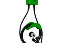 GS107T2GC * Statie de incarcare fixa, alimentare monofazata, 220V/32A, 7.2 kW, cu outlet Type 2, LED prezenta tensiune, LED incarcare