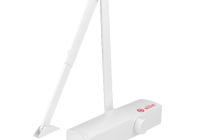 SA-803-wh * Amortizor hidrauilic cu brat pentru usi de la 25kg la 120kg, alb