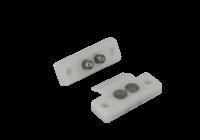 DLK-404W * Contacte mecanice pentru alimentarea incuietorilor electrice montat pe foaia de usa