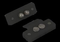 DLK-404B * Contacte mecanice negre pentru alimentarea incuietorilor electrice montat pe foaia de usa
