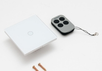 AJ-TSB-01 * Intrerupator simplu cu actionare la atingere (touch) si telecomanda RF