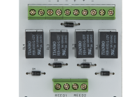 PCB-501 * Modul electronic pentru doua usi cu incuietori tip fail-safe cu monitorizare sau buton