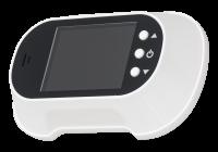 DV-05-ch/wh * Vizor electronic cu ecran color TFT si buton pentru sonerie (alb)