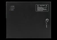 CAB4-PS5-gy * Cabinet multifunctional pentru centrale de control acces 12~14.1Vcc / 5A, backup, negru