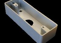 MBB-C-CH-AL * Carcasa din aluminiu pentru montarea aplicata a butoanelor de acces KY si FMB