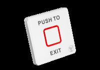 TSK-830NB(LED) * Buton de iesire aplicabil cu LED de stare bicolor, din plastic, actionare prin atingere