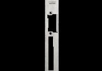 DORCAS-H1-X-L * Suport lung din inox, de stanga, pentru incuietorile Dorcas din seria Top