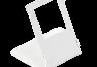 C31X-W * Suport alb pentru montarea pe birou a videointerfoanelor IP din seria C313 si C315, monitoare cu diagonala de 7''
