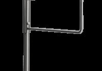 YK-PB-M-ZL * Poarta batanta bidirectionala din INOX, mecanica cu cheie