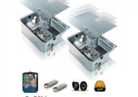 QK-SUB220KIT * SUB - Kit automatizare porti batante, max. 3.5m/ canat, 230Vca, montare ingropata