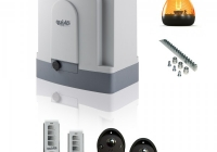 QK-M1000BKIT+ * Kit automatizare porti culisante, max. 1000kg, 24Vcc- MOOVY
