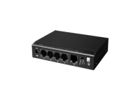 SF5P-HM * Switch ethernet PoE+ cu functie PoE Watchdog, 4 porturi 10/100 Mbps POE+ downlink, 1 port 10/100 Mbps uplink, 60W