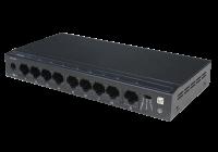 SF9P-HM * Switch ethernet PoE+, functie Watchdog, 8 porturi 10/100 Mbps POE+ downlink, 1 port 10/100 Mbps uplink