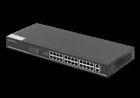 SF26P-LM *  Switch ethernet PoE+ cu functie PoE Watchdog, 24 porturi 10/100Mbps POE+ downlink, 2 porturi 10/100/1000Mbps uplink