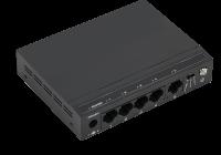 SG5-M *  Switch gigabit cu 4 porturi downlink 10/100/1000Mbps si un port 1 port uplink 10/100/1000Mbps, cu functie Switching loop detection